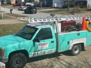Commercial Exterior Cleaning Truck