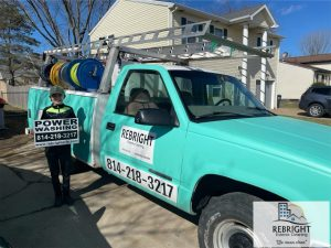 Exterior Cleaning Truck