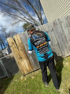 Rebright Fence Cleaning